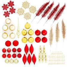 90 elegance shatterproof ornament set 8509915 hsn