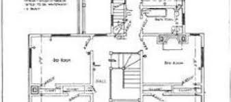 19th Century Floor Plans Floor Plan For Second Floor Of Late 19th Century Home See The