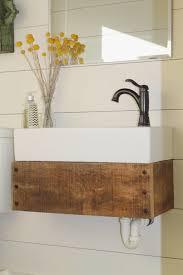 Small Floating Bathroom Vanity - bathrooms design small floating reclaimed wood bathroom vanity