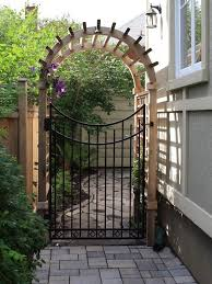 Gate For Backyard Fence 46 Best Gates Backyard Images On Pinterest Landscaping Backyard