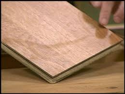 Wet Laminate Flooring - what happens when laminated floorings get wet