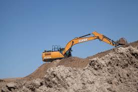 case cx300d full size excavator case construction equipment