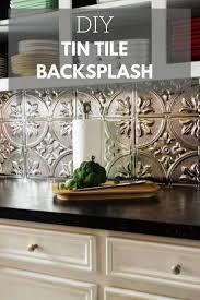 Tin Backsplash Ideas Backsplash Help Long Pic Heavy Image Of Tin - Tin tile backsplash