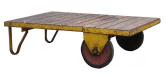 industrial cart coffee tables u2014 office and bedroomoffice and bedroom