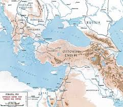 Wwi Europe Map by Of The Ottoman Empire 1914