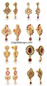 malabar earrings 22kgolddesigns page 179 of 325 the in jewellery designs