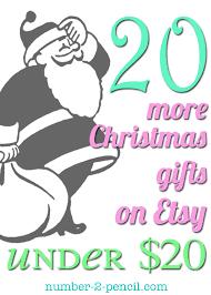 twenty christmas gift ideas under twenty dollars no 2 pencil