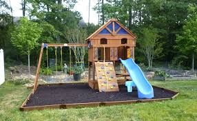 playset flooring how to maintain an outdoor wooden playset today s