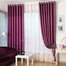 Blackout Purple Curtains Purple Thick Printing Custom Blackout Curtains