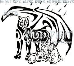 lioness and cubs by wildspiritwolf on deviantart