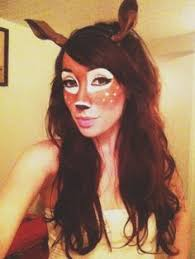 Deer Head Halloween Costume Larp Costumefaun Costume Larp Costume Female Faun Costume