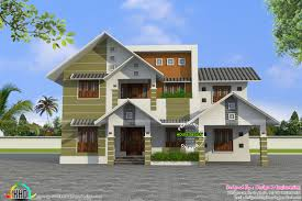 inspirations modern style sloping roof house plan collection with