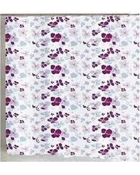 Wide Fabric Shower Curtain Savings On Flying Floral Petals Wide Fabric Shower