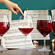 wine glass gifts major scale musical wine glasses set of 2 etched wine
