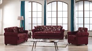Burgundy Living Room Set Home Burgundy Fabric Mdf Plywood 3pc Living Room Set