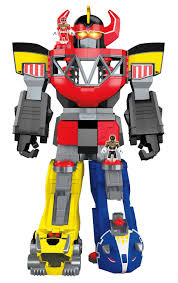 fisher price imaginext power rangers morphin megazord toy