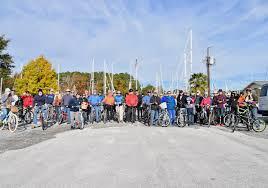 thanksgiving bike ride around 2017 towndock net