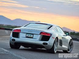 Audi R8 Jet Blue - evolution motorsports twin turbo audi r8 european car magazine