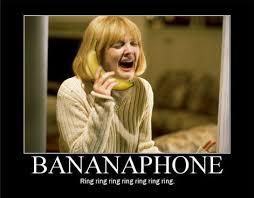 Scream Meme - drew barrymore in wes craven s scream banana memes pinterest