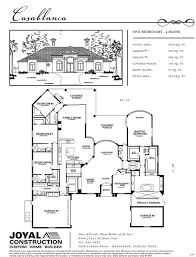 floor plans joyal construction