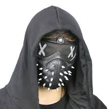 cool masks cool style dogs 2 mask wrench rivet masks