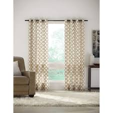 home decorators collection semi opaque sand lattice luxe flocked