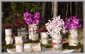 Tin Can Table Decorations Cheap Glass Vases For Centerpieces Uk Home Design Ideas