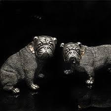aliexpress buy 2 pieces set bulldog ornaments