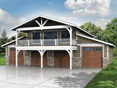 Barn Style Garage With Apartment Plans Garage With Loft 0124 Garage Plans And Garage Blue Prints