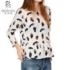 print blouse print blouse