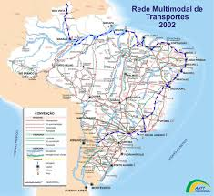 American Route Map by South America Route Maps