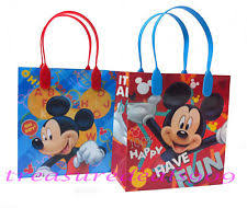 mickey mouse gift bags 48 pc disney mickey mouse goodie gift bags party favors candy