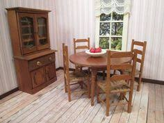 Dollhouse Dining Room Furniture Vintage Furniture For Dollhouse Dining Room Set Made In