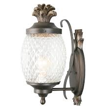 Hampton Bay Outdoor Light Fixtures by Shop Outdoor Wall Lights At Lowes Com