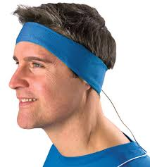 headband mp3 pow headband