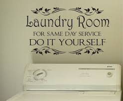 Bedroom Wall Writing Uk Laundry Same Day Service Vinyl Decals Wall Lettering Laundry