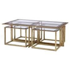 glass coffee table nest designer coffee tables eclectic coffee tables kathy kuo home