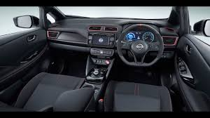 nissan leaf interior nissan leaf nismo concept interior leaked youtube