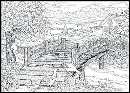 coloring pages for landscapes landscape coloring pages click to see printable version of landscape