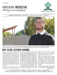 Light Of Life Rescue Mission October 2017 Newsletter Boise Rescue Mission Ministries