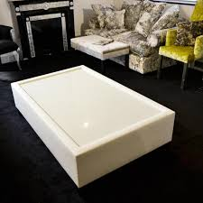 faux leather coffee table bespoke plum marble fabric glass coffee table f d interiors ltd