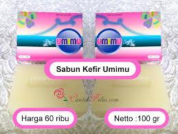 Sabun Umi sabun umimu solusi masalah wajah berminyak berjerawat