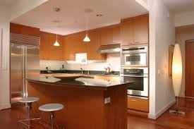 curved kitchen island zamp curved kitchen island plain cherry wood with brown granite countertop combined natural