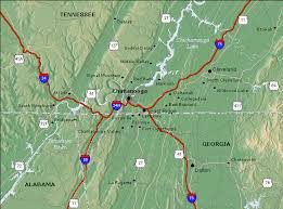 map of chattanooga tn chattanooga tennessee vacation home rentals local information