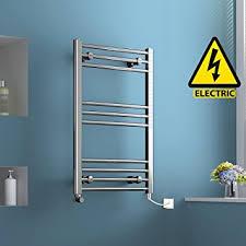 Bathroom Towel Rails Non Heated 800 X 500 Mm Electric Heated Towel Rail Chrome Straight Ladder