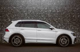 volkswagen tiguan 2017 black abt reveals first 2017 vw tiguan tuning tdi power and lowered