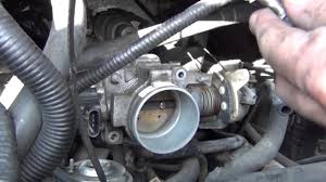 nissan maxima idle relearn how to clean a throttle body and idle air control valve iac