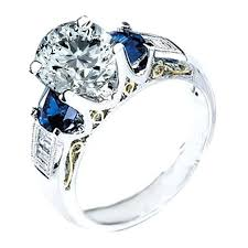 v shaped ring ebay diamond sapphire rings vintage sapphire engagement rings ebay placee