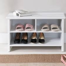 Shoe Storage Bench Shoe Storage Benches You Ll Wayfair