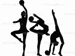rhythmic gymnastic wall decals vdd1049en artpainting4you eu
